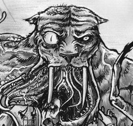 Mutierter Zombie-Tighrir von Diana Rahfoth