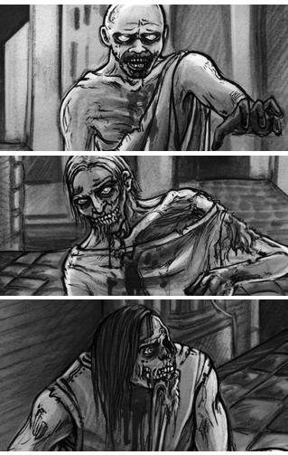 Zombies von Diana Rahfoth