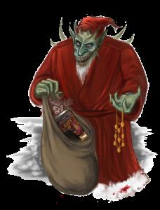 Hohoho oder Harharhar? Wie auch immer, dieser nette Herr wird euch sicherlich auch dieses Jahr heimsuchen. (Ich guck in Deine Richtung, Xeledon!)