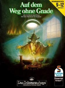 Cover A4 Auf dem Weg ohne Gnade Claus D. Biswanger