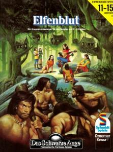 "Cover von A11 ""Elfenblut"""
