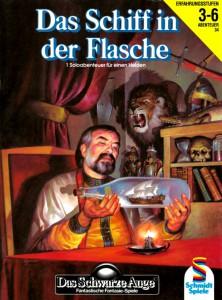 """Cover vom AB A34 """"Das Schiff in der Flasche"""""""