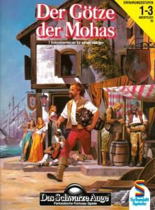 """Cover von A35 """"Der Götze der Mohas"""""""