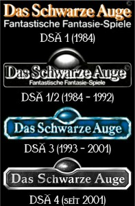die DSA-Logos seit 1984