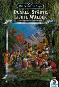 """Cover der Zwelfen-Spielhilfe """"Dunkle Städe, lichte Wälder"""""""