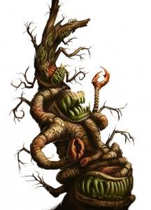 Myranische Monstren Maulbaum