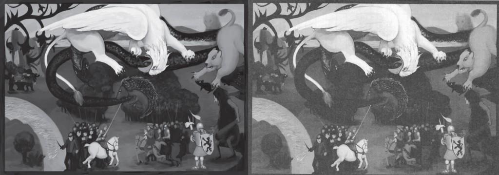 Gemälde Vergleich