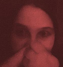 Curima fürchtet sich.