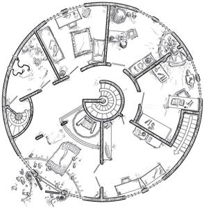 Es geht rund in Brabakulas Turm! (Ähnlichkeiten mit lebenden oder verstorbenen Monstern oder Bösewichtern sind rein zufällig und nicht geplant.)