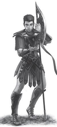 Klingentänzer Krieger Hylailos