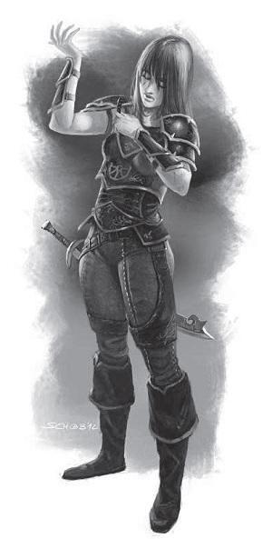 Kriegerin aus Mengbilla