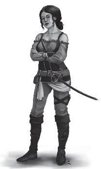 Puniner Krieger - sehr leicht gerüstet