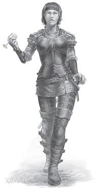 Vinsalter Kriegerin
