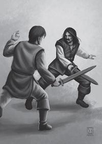 Klingentänzer Schwertgesellen Übungskampf