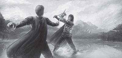 Klingentänzer Schwertgesellen Duell