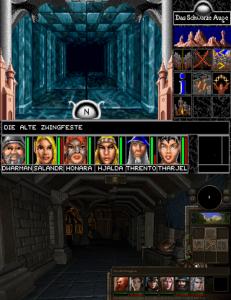 Die alte Zwingfeste, früher und heute. Für die Meisten wohl das erste Dungeon im Spiel.