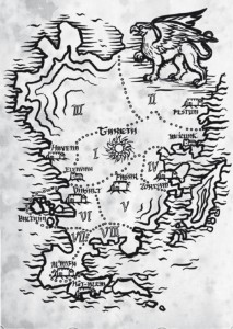Praios Vademecum Ordnungen Karte
