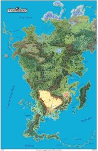 Aventurien – Land der Abenteuer und der Magie. Phantastische Welt dunkler Geheimnisse und drohender Gefahren über dem allzeit wachend ruht: Das schwarze Auge…