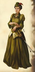 Dem Horas treu ergeben - die Dame vom Adlerorden - von Nele Klumpe.