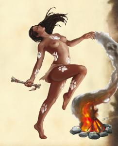 Die Schamanin ruft die Geister - von Luisa Preißler.