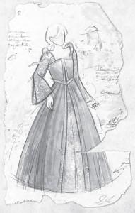 Das begehrteste Geheimnis von Gareth: Prototyp des Hochzeitskleides (von Nadine Schäkel)