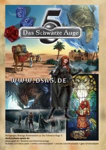 Der Mike Myers des Aventurischen Boten: Wiedergänger-Collage zu DSA 5