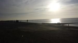 HeinzCon14 Norddeich Strand Gegenlicht