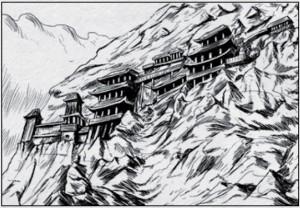 Tharun - Felsenbauten