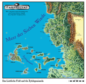 Das Liebliche Feld und der Wilde Süden (Karte des Ulisses Kartenpakets. Zur Verwendung siehe die Kartenpaket-Lizenz).