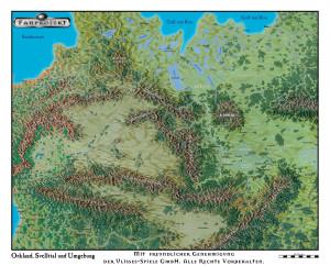 Orkland und Svelltland (Karte das Ulisses Kartenpakets. Zur Verwendung siehe die Kartenpaket-Lizenz).