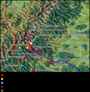 Ob sie aber über Oberammerg... äh.. den Dergel von Norden kommen, oder ob sie von Süden kommen - man weiß es nicht.