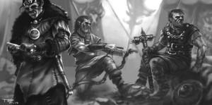 Jahrhunderte des Epilier-Verweigerns haben ihre Spuren hinterlassen: Orks - haarige Helden mit Hauern im Maul (von Tristan Deneke)