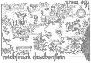 """""""Und jetzt müssten wir zu unserer Linken einen riesigen Drachen sehen..."""" - Navigation in den Drachensteinen"""