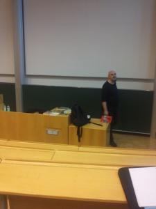 GFF14 - Thomas Römer vor seinem Vortrag