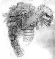Der Predator lässt grüßen. Bei Angurianern ist der Rüstungsschutz nur der Bonus.