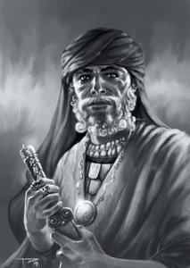 Mehr Sheik geht nicht: Rashtul al'Sheik, der Eroberer Zhamorrahs, kannte vermutlich viele echsische Geheimnisse, die heute vergessen sind.
