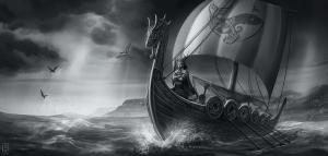 Row, row, row your boat... thorwalscher geht es wohl nicht: die Heldengruppe kommandiert ihr eigenes Schiff (Bild: Nadine Schäkel).