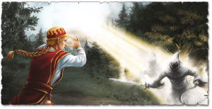 Burn Hesthot, burn: Wenn Praioten karmalzaubern, dann brennen die Dämonen! (Bild von Elif Siebenpfeiffer).