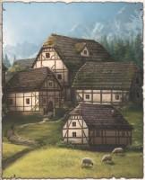 Ferien auf dem Bauerngaminghof im Kosch: Dorf Altenbrück