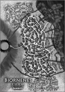 Biornenes, Metropole von Lorthalion - oder besser gesagt die einzige namenhafte Siedlung überhaupt
