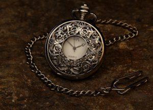 Eine Taschenuhr