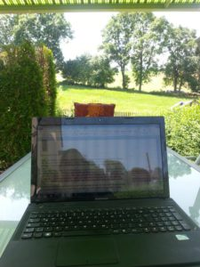 Work in Progress: Schönes Wetter ist keine Ausrede!