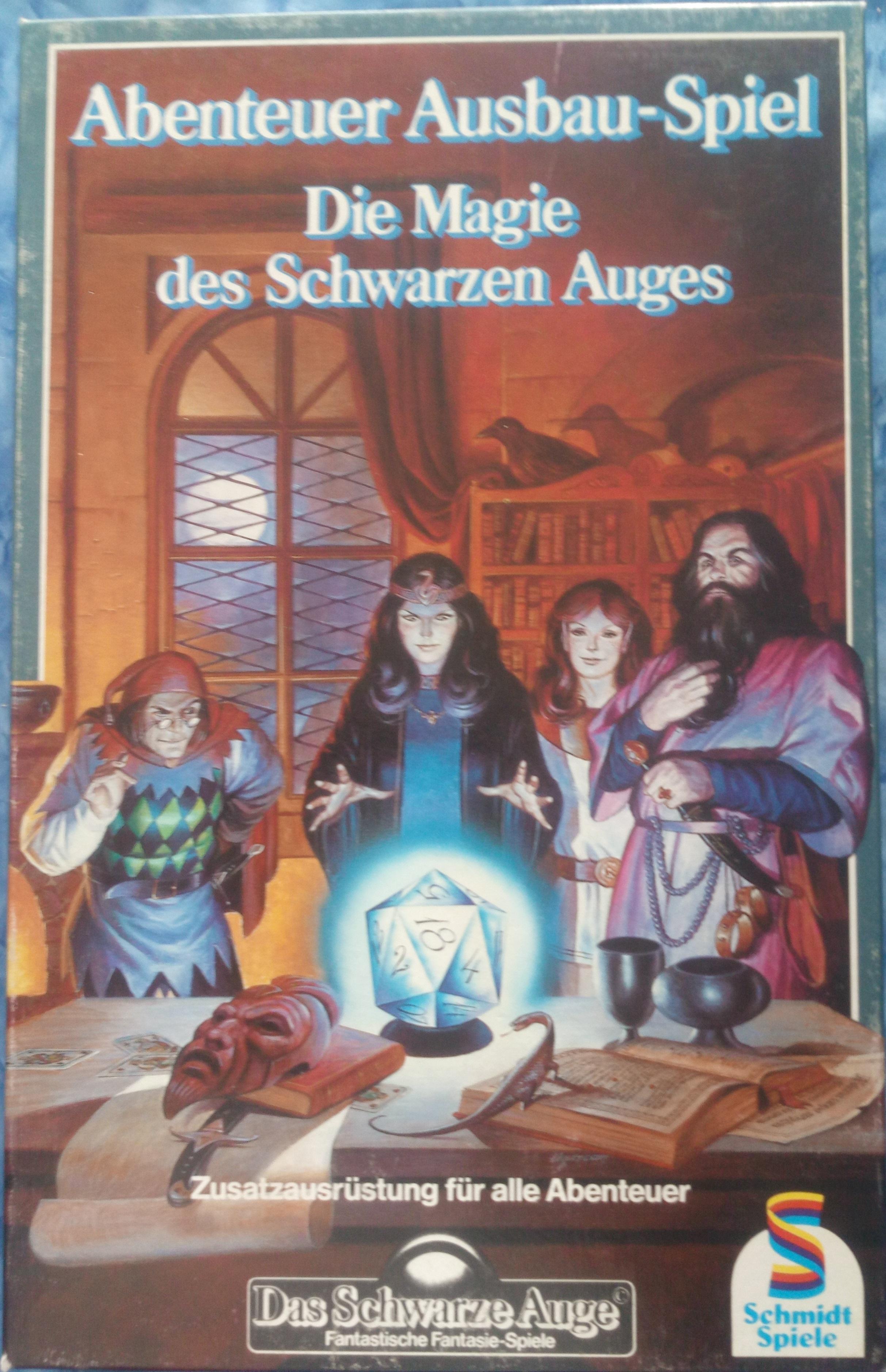 Abenteuer-Ausbauspiel: Die Magie des Schwarzen Auges