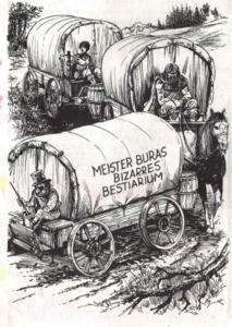 Nur gut dass sie keine ECHTE Harpyie dabei haben (alle Illustrationen von Ruud van Giffen)