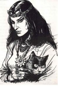 Eine typisch bornländische Bibliothekarin namens Yala Sintelfink