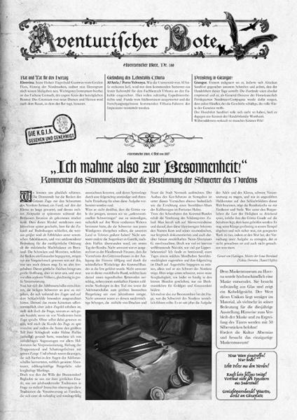 Gazettendisput 8 - Aventurischer Bote 180