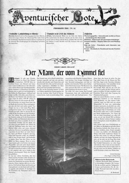 Gazettendisput 10 - Aventurischer Bote 182