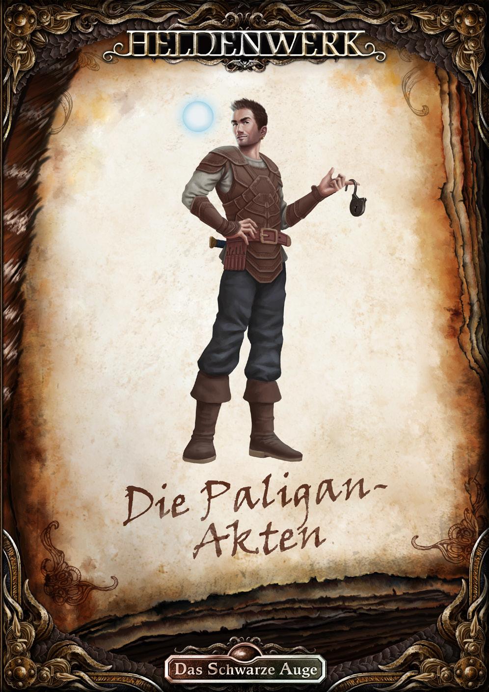 """Heldenwerk-Cover """"Die Paligan-Akten"""""""