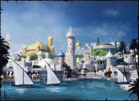 Bild der Hafenstadt Khunchom