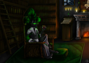 """""""Der Graue Meister"""" - Ein Spielercharakter von Lord Katerchen."""